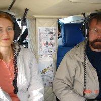 В кабине вертолёта над Гранд-каньоном. :: Одиноков Юрий