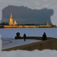 Город вечером :: Наталия П