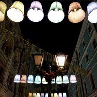 Ночные фонарики :: Лариса Корженевская