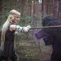 Волчица и Морок :: Мария Дергунова