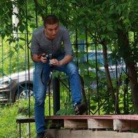 Крадется юный фотограф :: Екатерина Василькова
