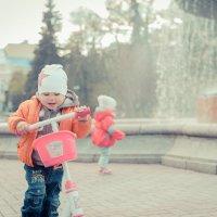 Эмоушен на самокате озорные)))Не отдам самокат никому))) :: maxihelga ..............