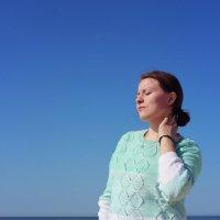 Море вызывает умиротворение :: Виктория Титова