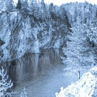 Мраморный каньон, Карелия :: Наталия П