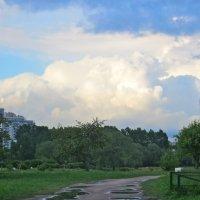 облака сверху и снизу :: Елена