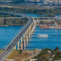 Мост через Волгу :: Алексей Павлов