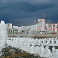 Тучи на городом :: Наталья Тагирова