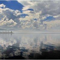 Просто красивое небо и его отражение :: generalov545
