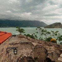 Над маленькой дивной Черногорией бурное небо! :: Леонид Нестерюк