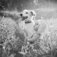 Ева и милый щенок) :: Олька Никулочкина