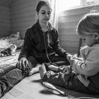 У неё мои привычки, два банта и две косички! :: Ирина Данилова
