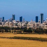 Тель Авив в знойный полдень :: Alex Molodetsky