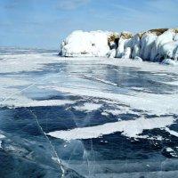 Торосы острова Ольхон. Байкал :: Нина