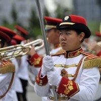 Знаменосец..Оркестр из Сингапура :: Николай Сапегин