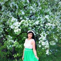 Когда яблони цветут! :: Лина Трофимова