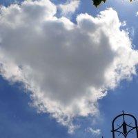 Вот такое облачное сердце)) :: Наталья Петракова