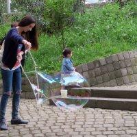 День мыльных пузырей :: Наталья Джикидзе (Берёзина)