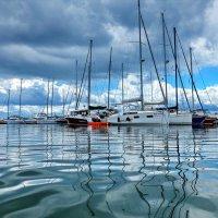 гавань с облаками :: Ingwar
