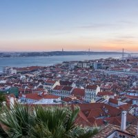 Закат над Лиссабоном-2 :: Константин Шабалин