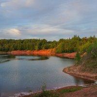Вечер на озере :: Анатолий