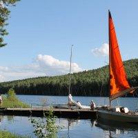 озеро Тургояк,остров Веры :: Валерий Конев