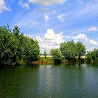 озеро - пожарный водоем :: Александр Прокудин