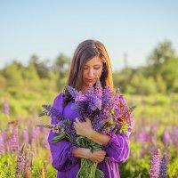 Люпиновое море моей души :: Yana Sergeenkova