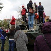 Дети на танке :: Наталья Золотых-Сибирская