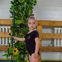 Юная гимнастка :: Ольга Штанько
