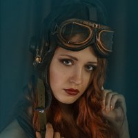 портрет в стиле стипанк :: Александр Якименко