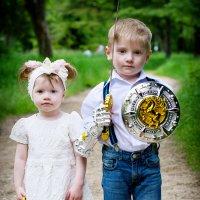 Братик и сестричка :: Алёна Жила