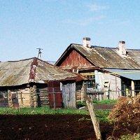 Покосившийся сарай :: Владимир Ростовский