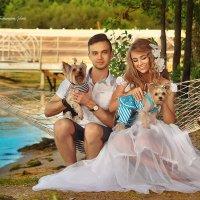 Свадебная фотосессия на берегу моря :: Татьяна Семёнова