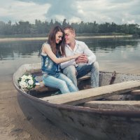 Двое в лодке :: Роман Салов
