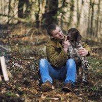 Собака - друг человека :: Julia Nikitina
