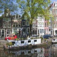 Амстердам через призму зеркал :: liudmila drake