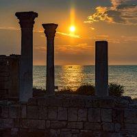 Здесь был грозный храм... :: Александр Пушкарёв
