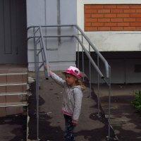 Такая, вот, маленькая соседка Саша :: Андрей Лукьянов