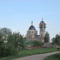 Сельский храм. :: Михаил Попов