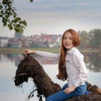 Моя лошадка. :: Lidiya Gaskarova