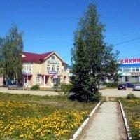 Село Айкино, Коми. Первый день лета. :: Николай Туркин
