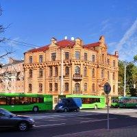 Здание бывшей Женской гимназии Рейман в Минске :: Денис Кораблёв