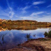 Калуга, левый берег :: Делана Романова