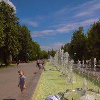 летом в парке :: юрий мотырев