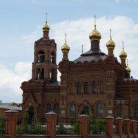 Крестовоздвиженская церковь в г.Хвалынске :: Мария Букина