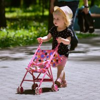 Лиза шагает в зоопарк. :: cfysx