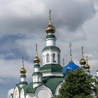 Купола Свято Никольского Собора в Армавире :: Игорь Сикорский