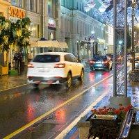 Дождь, улица, ночь... :: Руслан Гончар