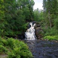 .водопад...БЕЛЫЕ МОСТЫ :: Ольга Cоломатина