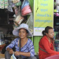Уличная торговка.Бирма. :: Лариса Борисова